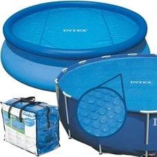Согревающее солнечное покрывало для круглых бассейнов Intex 29023 (59954) (457 см)