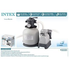 Песочный фильтр-насос Intex 26652 Krystal Clear