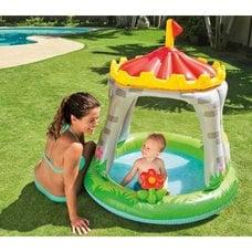 Детский бассейн с навесом Intex 57122 (122х122см) 1-3 года