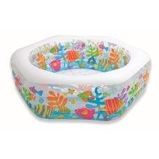 """Бассейн надувной Intex 56493NP """"Ocean Reef Pool"""" (191х178х61см) 6+"""