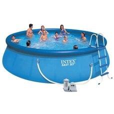 Круглый надувной бассейн Intex 26176 Easy Set (549х122см)