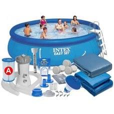 Надувной бассейн Intex 26166 Easy Set Pool (457х107см)