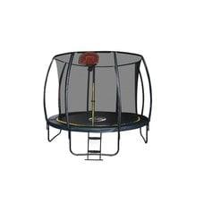 Батут Sport Elit CFR-14FT-4 14FT (4,27м) с защитной сеткой (внутрь) с лестницей