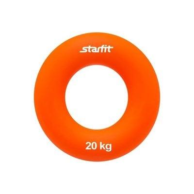 """Покупка  Эспандер кистевой StarFit ES-403 """"Кольцо"""" 20 кг оранжевый   в магазине IntexRelax с доставкой или самовывозом"""