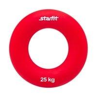 """Эспандер кистевой StarFit ES-404 """"Кольцо"""" 25 кг красный"""