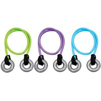 Эспандер 2 в 1 кистевой+силовой AbsoluteChampion цвет фиолетовый (нагрузка 6 кг.)