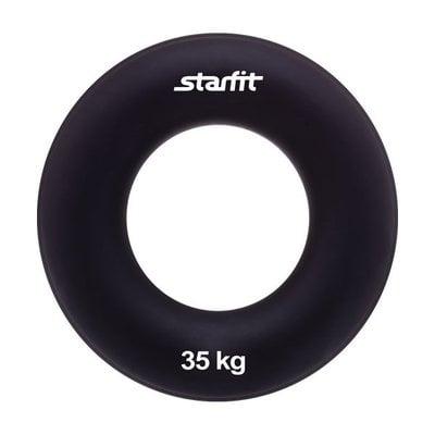"""Покупка  Эспандер кистевой StarFit ES-404 """"Кольцо"""" 35 кг чёрный   в магазине IntexRelax с доставкой или самовывозом"""