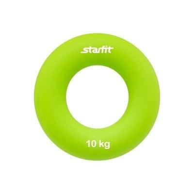 """Покупка  Эспандер кистевой StarFit ES-403 """"Кольцо"""" 10 кг зелёный   в магазине IntexRelax с доставкой или самовывозом"""
