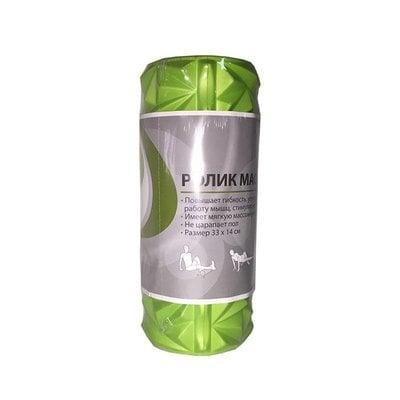 Покупка  Ролик массажный Lite Weights 6550LW салатовый/серый 33*14см   в магазине IntexRelax с доставкой или самовывозом