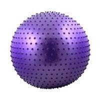 Мяч гимнастический массажный STARFIT GB-301 75 см антивзрыв, фиолетовый