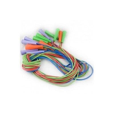 Покупка  Скакалка резиновая 2,65 м мультиколор   в магазине IntexRelax с доставкой или самовывозом