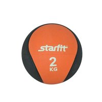 Медбол StarFit PRO GB-702 2 кг оранжевый