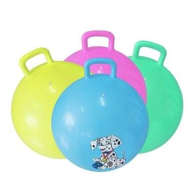 Покупка  Мяч-попрыгун с ручкой 55 см GB04   в магазине IntexRelax с доставкой или самовывозом