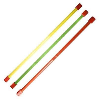 Покупка  Гимнастическая палка (бодибар) 3 кг 120 см зеленый   в магазине IntexRelax с доставкой или самовывозом