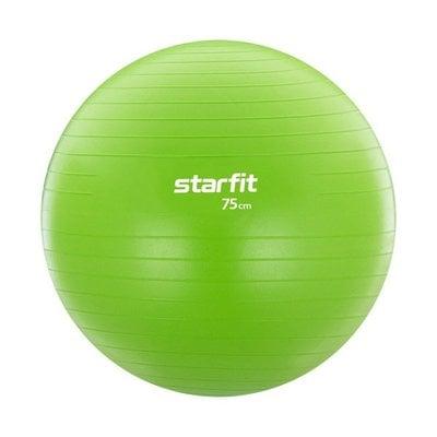 Покупка  Фитбол StarFit GB-104, 75 см зеленый   в магазине IntexRelax с доставкой или самовывозом