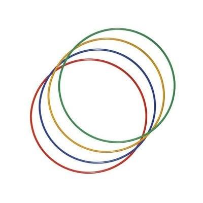 Покупка  Обруч металлический цветной утяжеленный 0,89 м   в магазине IntexRelax с доставкой или самовывозом