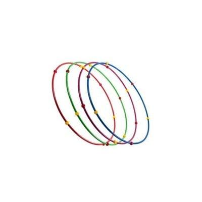 Покупка  Обруч гимнастический стальной с массажными шариками 0,9 м   в магазине IntexRelax с доставкой или самовывозом