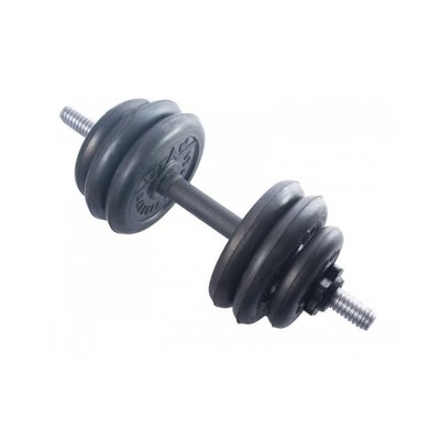 Покупка  Гантель (1 шт) 14 кг сборная Titan   в магазине IntexRelax с доставкой или самовывозом
