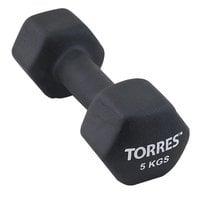 Гантель неопреновая Torres 5 кг арт.PL55015