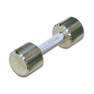 Покупка  Гантель (1шт) 5 кг хром MB Barbell   в магазине IntexRelax с доставкой или самовывозом
