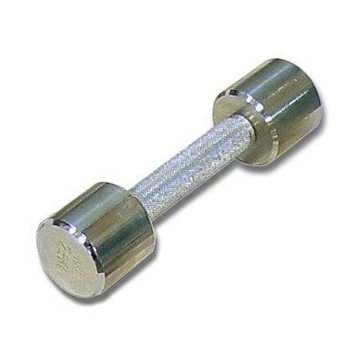 Покупка  Гантель (1шт) 2 кг хром MB Barbell   в магазине IntexRelax с доставкой или самовывозом