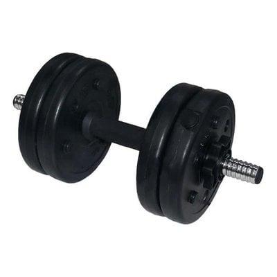 Покупка  Гантель (1 шт) 5 кг в оболочке сборная Lite Weights 3101CD   в магазине IntexRelax с доставкой или самовывозом