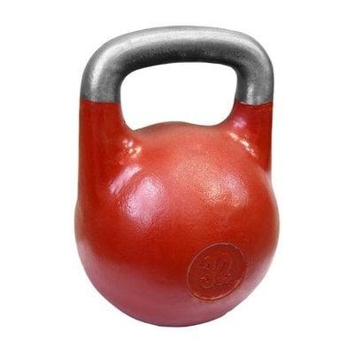 Покупка  Гиря Titan 32 кг для соревнований (ВФГС) красная   в магазине IntexRelax с доставкой или самовывозом