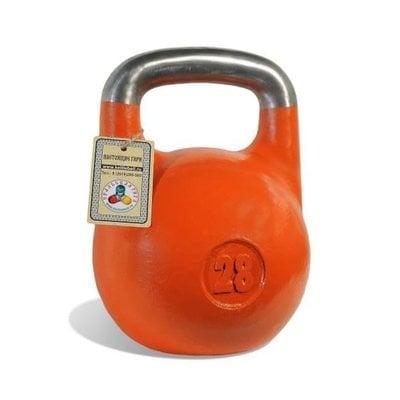 Покупка  Гиря чемпионская Titan 28 кг (оранжевая)   в магазине IntexRelax с доставкой или самовывозом