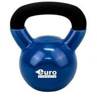 Гиря для кроссфита чугунная обрезиненная Euro-classic 8 кг