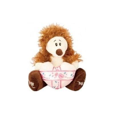 """Покупка  Мягкая игрушка Fluffy Family 93714 """"Ежик с сердцем"""" 14 см   в магазине IntexRelax с доставкой или самовывозом"""