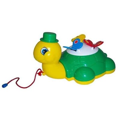 """Покупка  Игрушка-каталка Черепашка """"Глаша"""" с бабочками   в магазине IntexRelax с доставкой или самовывозом"""