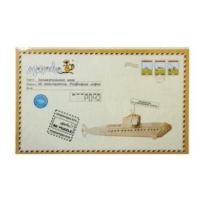 """Покупка  Пазлы трёхмерные Mapacha """"Подводная лодка""""   в магазине IntexRelax с доставкой или самовывозом"""