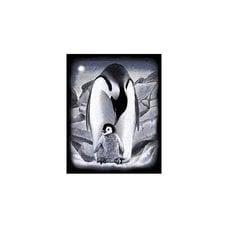 Гравюра серебро Пингвин REEVES Oasis Art@Craft Products Ltd. PPSF45