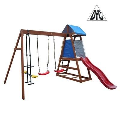 Покупка  Детский деревянный городок DFC DKW044   в магазине IntexRelax с доставкой или самовывозом