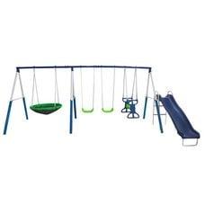 Детский комплекс с качелями и горкой DFC 76208
