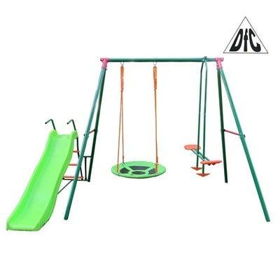 Покупка  Детский комплекс c горкой DFC RGN-03   в магазине IntexRelax с доставкой или самовывозом