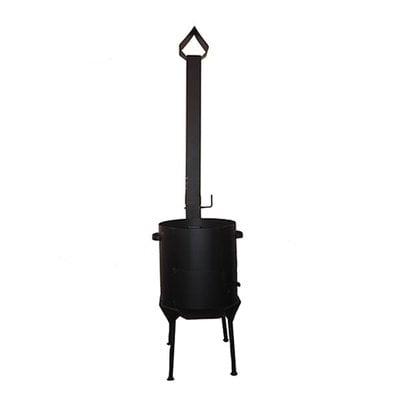 Покупка  Печь для казана 22 л с трубой   в магазине IntexRelax с доставкой или самовывозом