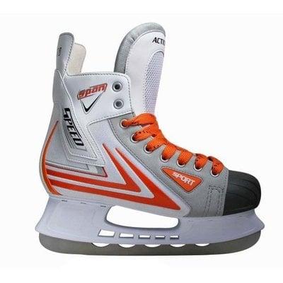 Покупка  Коньки хоккейные Action PW-217 р.39   в магазине IntexRelax с доставкой или самовывозом