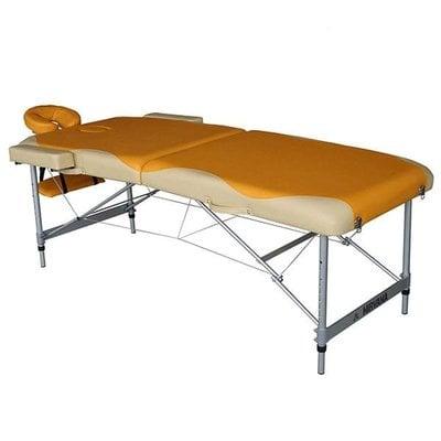 Покупка  Массажный стол DFC NIRVANA Elegant PREMIUM orange/beige   в магазине IntexRelax с доставкой или самовывозом