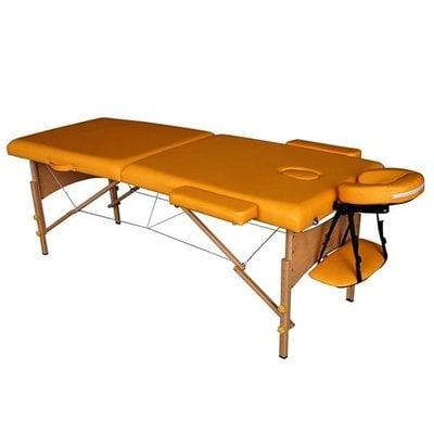 Покупка  Массажный стол DFC Nirvana Relax Mustard   в магазине IntexRelax с доставкой или самовывозом