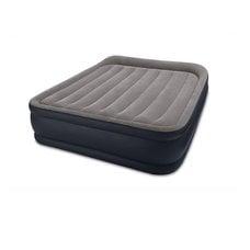 """Двуспальная надувная кровать Intex 64136 """"Deluxe Pillow Rest Raised Bed"""" + насос (203х152х42см)"""