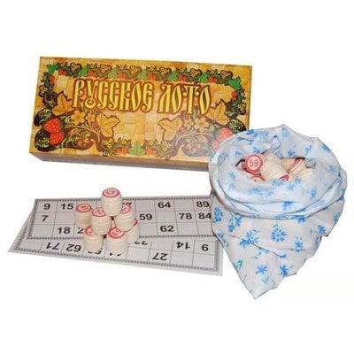 """Покупка  """"Русское лото"""" в картонной коробке   в магазине IntexRelax с доставкой или самовывозом"""