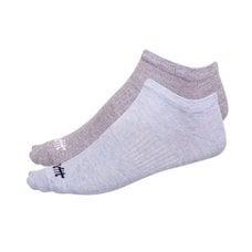 Носки низкие StarFit SW-205 р.43-46 2 пары голубой меланж/светло-серый меланж