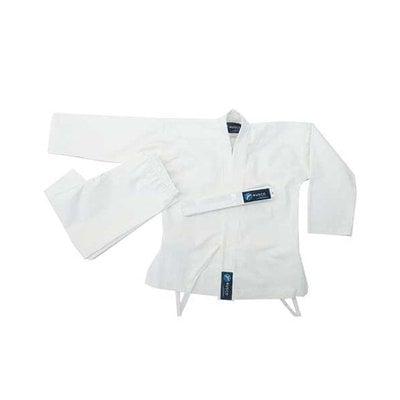 Покупка  Кимоно карате ES-0496 рост 130 (белое)   в магазине IntexRelax с доставкой или самовывозом