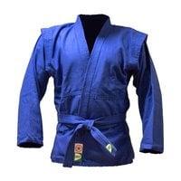 Куртка для самбо Green Hill JS-302 синяя р.3/160
