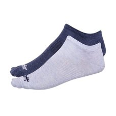 Носки низкие StarFit SW-205 р.35-38 2 пары голубой меланж/синий меланж
