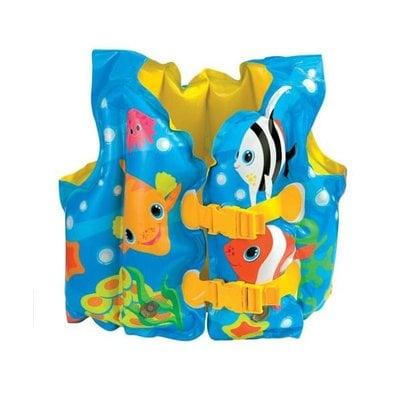 """Покупка  Жилет """"Веселые рыбки"""" Intex 59661 от 3-5 лет   в магазине IntexRelax с доставкой или самовывозом"""