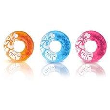 "Круг Intex 59251NP ""Clear Color Tubes"" 91см 9+"