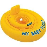 "Круг для плавания INTEX 56585 ""MY BABY FLOAT"" 70 см (от 6-12 месяцев)"