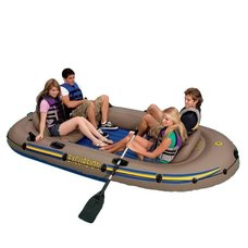 Лодка INTEX надувная четырёхместная EXCURSION 68324